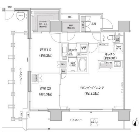 パークハビオ渋谷本町レジデンス1302号室