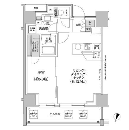 パークハビオ渋谷本町レジデンス201号室