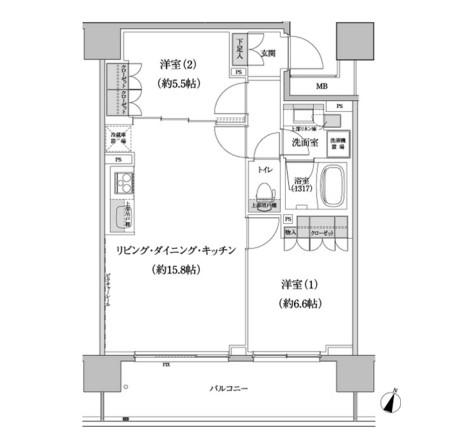 パークハビオ渋谷本町レジデンス217号室