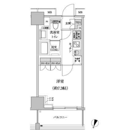 パークハビオ渋谷本町レジデンス302号室