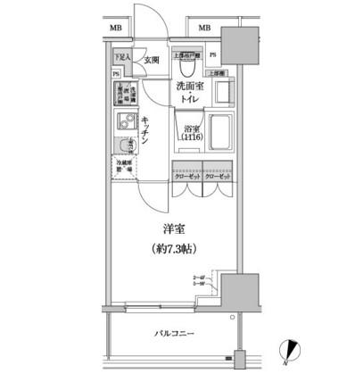 パークハビオ渋谷本町レジデンス306号室