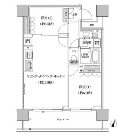 パークハビオ渋谷本町レジデンス316号室