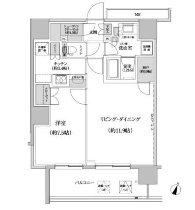 パークハビオ渋谷本町レジデンス321号室