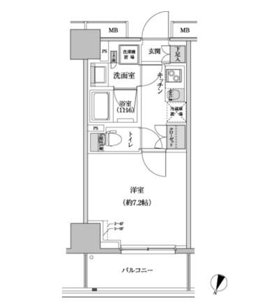 パークハビオ渋谷本町レジデンス407号室