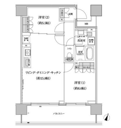 パークハビオ渋谷本町レジデンス416号室
