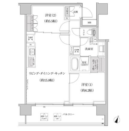 パークハビオ渋谷本町レジデンス420号室