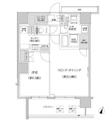 パークハビオ渋谷本町レジデンス421号室