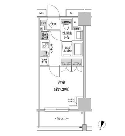 パークハビオ渋谷本町レジデンス503号室