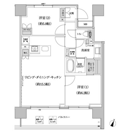 パークハビオ渋谷本町レジデンス521号室