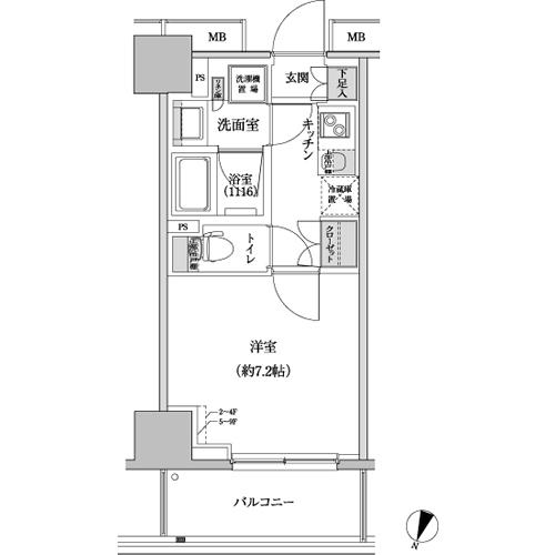 パークハビオ渋谷本町レジデンス608号室