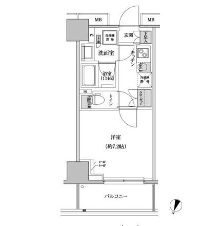 パークハビオ渋谷本町レジデンス610号室