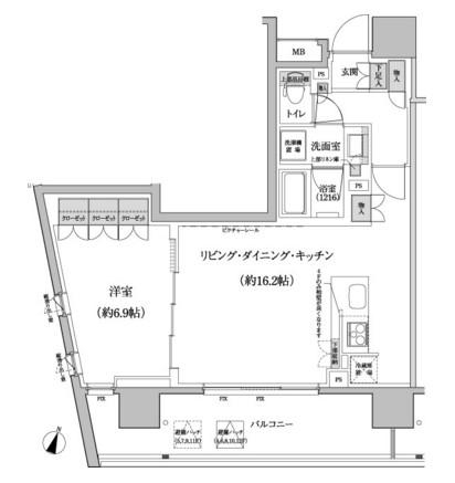 パークハビオ渋谷本町レジデンス615号室