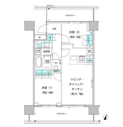 パークハビオ渋谷本町レジデンス616号室