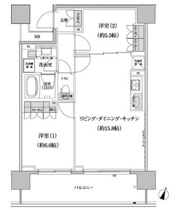 パークハビオ渋谷本町レジデンス617号室