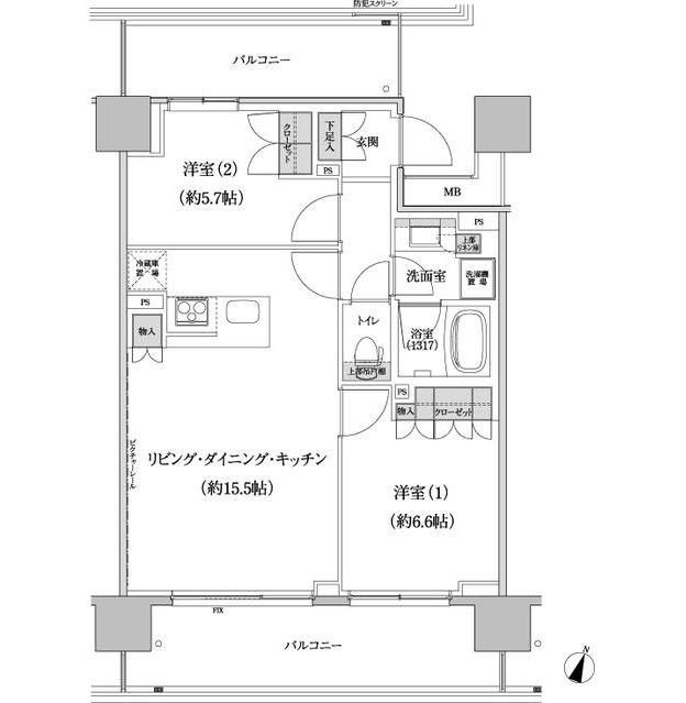 パークハビオ渋谷本町レジデンス619号室