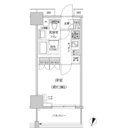 パークハビオ渋谷本町レジデンス704号室