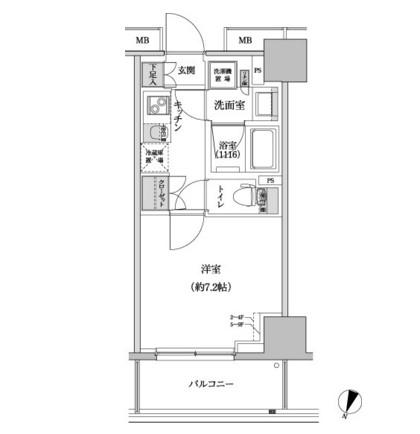 パークハビオ渋谷本町レジデンス709号室