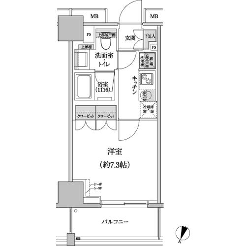 パークハビオ渋谷本町レジデンス804号室