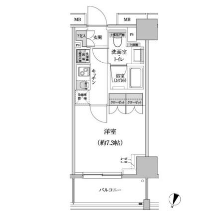 パークハビオ渋谷本町レジデンス807号室