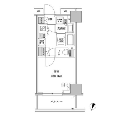 パークハビオ渋谷本町レジデンス811号室