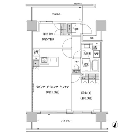 パークハビオ渋谷本町レジデンス819号室