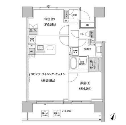 パークハビオ渋谷本町レジデンス821号室