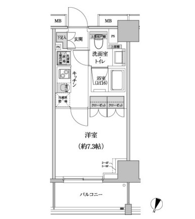 パークハビオ渋谷本町レジデンス907号室