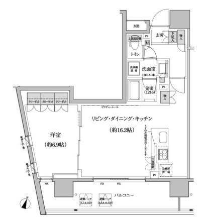 パークハビオ渋谷本町レジデンス915号室