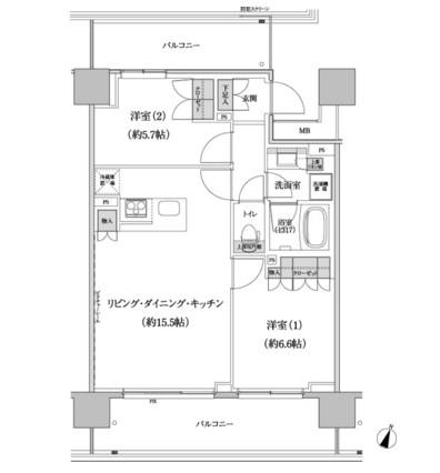パークハビオ渋谷本町レジデンス917号室