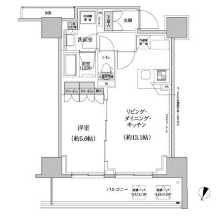 パークハビオ渋谷本町レジデンス928号室