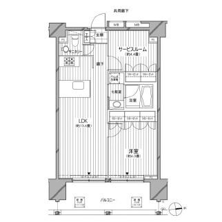 カスタリア麻布十番七面坂1103号室