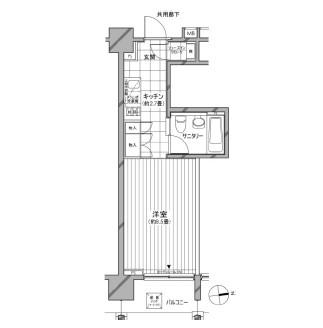 カスタリア麻布十番七面坂802号室