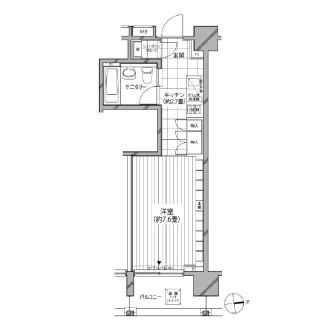 カスタリア麻布十番七面坂803号室