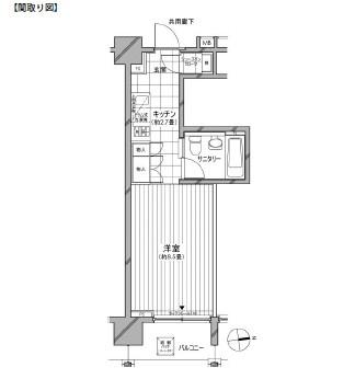 カスタリア麻布十番七面坂806号室