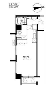 カスタリア芝公園801号室