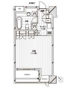 カスタリア銀座1302号室