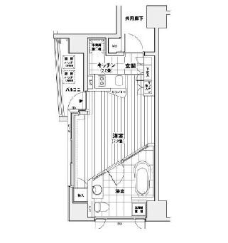 カスタリア銀座206号室