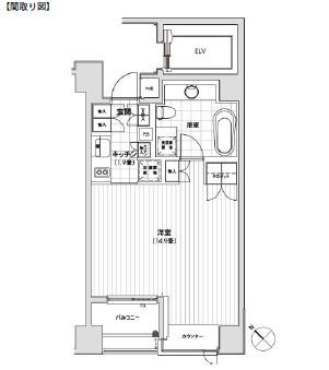 カスタリア銀座401号室