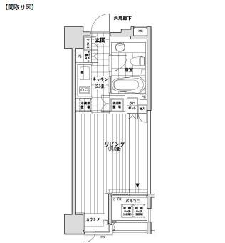 カスタリア銀座805号室