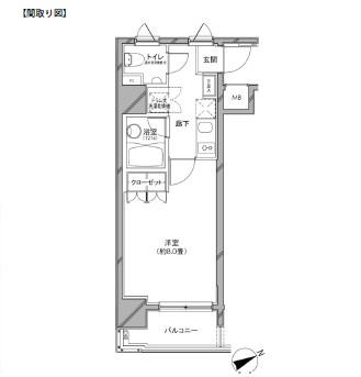 カスタリア日本橋1101号室