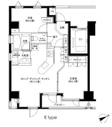 カスタリア日本橋1501号室