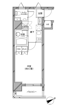 カスタリア日本橋901号室