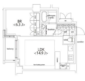 カスタリア麻布十番505号室