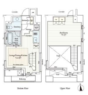 カスタリア麻布十番Ⅱ1302号室