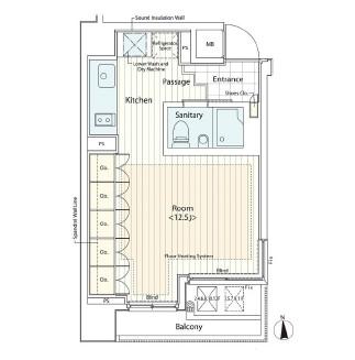 カスタリア麻布十番Ⅱ601号室