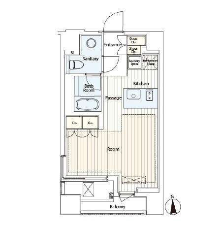 カスタリア麻布十番Ⅱ602号室