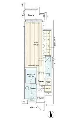 カスタリア麻布十番Ⅱ903号室