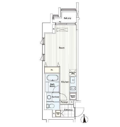 カスタリア麻布十番Ⅱ906号室