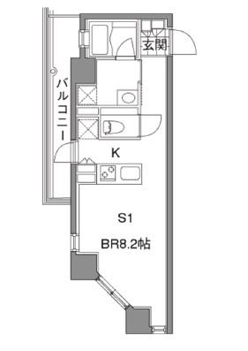 カスタリア新宿夏目坂306号室