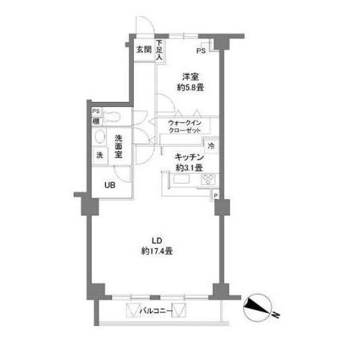 カスタリア原宿404号室